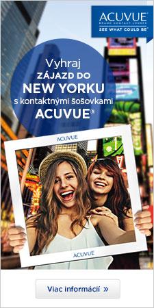 Vyhraj zajazd do New Yorku